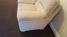 Sofa good condition CREAM