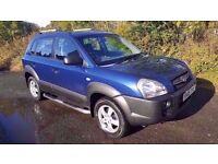 Hyundai Tucson 2.0 GSi **12 MONTHS MOT**LOW MILES**TOW BAR**IDEAL FAMILY CAR**PART EX WELCOME
