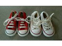 Converses toddler size 5