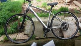 mongoose 350 crossway.sliver and black