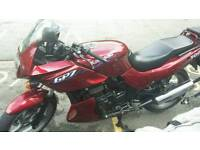 Kawasaki gpz500s. Time warp condition