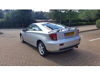 TOYOTA CELICA 2003 SILVER 1.8 PETROL COUPE SHORT MOT £750 ONO