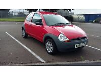 *REDUCED PRICE* Very low mileage 2003 Ford KA. Part service history. Only 23k on clock!