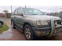 Sold Vauxhall frontera 3.2 v6 limited