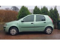 Fiat Punto 2002 Petrol Great Runner Perfect first time drivers
