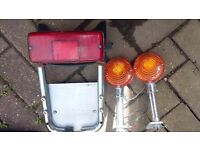 YAMAHA XS 850 CUSTOM REAR INDICATORS/STOP TAIL LIGHT