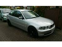 BMW 320TD COMPACT - SPARES OR REPAIRS