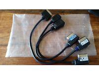 VW/Audi/Seat/Skoda Media-In Cables