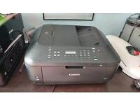 Canon MX535 Fax, colour printer, copier and scanner. Wi-fi.