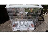 Vision Bird Cage - Will house small parakeets, cockatiels, love birds etc