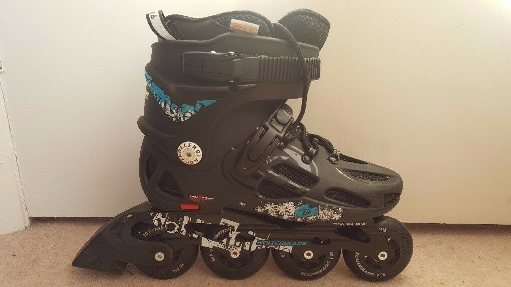 Twister 80 Inline Skates size 7 Roller Blades **AS NEW!**