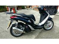 Piaggio medley 125 year 2016 swap geared 125 cbf 125 or similar