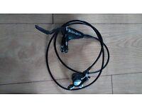 Hays hfx pro mag carbon brakes