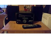 Proline CD Player with stocking station + 2 Speakers & Remote control