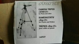 Camera tripod STAR 27 for photo and video