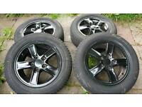 "Genuine Honda 5x114 15"" Alloy Wheels"