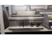 Cafe Catering Lincat Opus 700 OG7202/N Natural Gas Machine Steel Plate Griddle 90cm Flat Grill