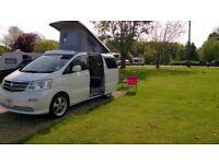 Toyota Alphard Camper conversion