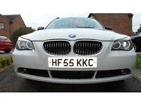 BMW 5 SERIES 3.0 530D SE TOURING 5DR 280BHP 12 MONTHS MOT
