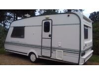 Abbey Vogue 216 GTS 2 berth caravan 1998 good condition with end bathroom and blow heating