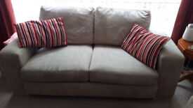 2 x 3 seater Settees for sale.