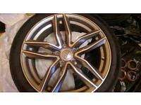 """Audi A6, RS6, A5, A4 18"""" alloys"""