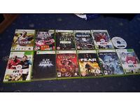 Xbox 360 Games Bundle 12 Games Bundles, Check Pics For DIfferent Bundles.