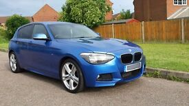 2014 BMW 116D M SPORT 2.0L DIESEL ESTORIL BLUE LOW MILES PX