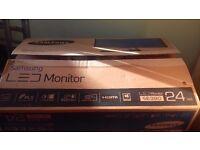 Samsung 59cm SE390 Led Monitor black
