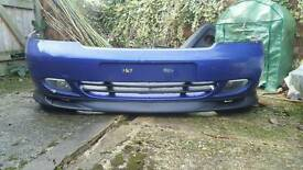 Vauxhall astra g spoiler and splitter