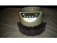 Wden star coin sorter and counter