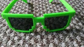 Minecraft glasses