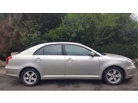 TOYOTA AVENSIS AUTO, 03 REG, 104K MILES, FSH, HPI CLEAR, 1 YEAR MOT, DRIVES MINT,