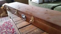 100+ year old reclaimed lumber wooden case