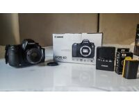 Canon EOS 6D Mk1 (WG) 20.2MP with Canon EF 50mm F1.8 II, 3 batteries, L-Bracket