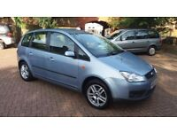 2006 Ford Focus C-Max 1.6, low millage, Air Con,2 owners, long MOT, New clutch