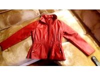 Red real leather for Women!!!