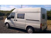Ford Transit Campervan Conversion SWB Medium Roof TDCI