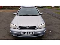 2003 Vauxhall Astra 1.6L Petrol with only 68496