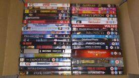 55 various original DVD Movies