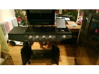 Cosmo D48 gas BBQ grill Unused 4 + 1 burner