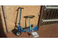 Razor E300s Electric Scooter with seat in excellent condition