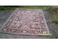 """CARPET 55"""" WIDE , ATTRACTIVE COLOURS in EXCELLENT CONDITION VERY USEFUL SIZE++"""