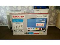 "NEW SHARP 49"" SMART LED TV FULL HD £280"