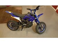 Kids mini petrol dirt bike 50cc