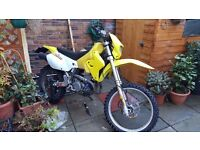 Suzuki drz 400 road legal green laner. Enduro bike