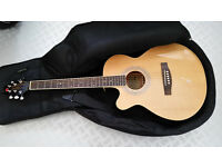 Eastcoast Handmade Left Handed Electro-Acoustic Guitar