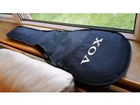 Vox gig bag for Phantom shape electric and smaller sized electric guitars.