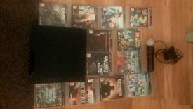 PS3 console, X2 controllers and X12 Games