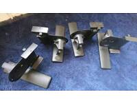 Wall mount speaker brackets x4